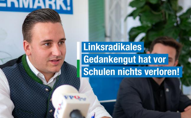 """RFJ-Wagner: """"Linksradikales Gedankengut hat vor Schulen nichts verloren!"""""""